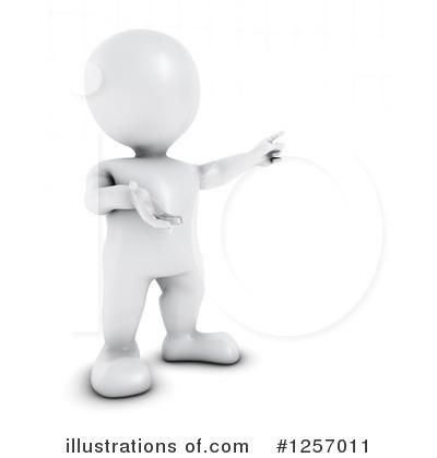 3D clipart 3d man 3d White Pargeter 3d Royalty