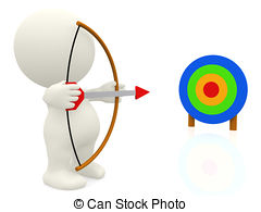 Target clipart research paper And Target Illustrations Aim