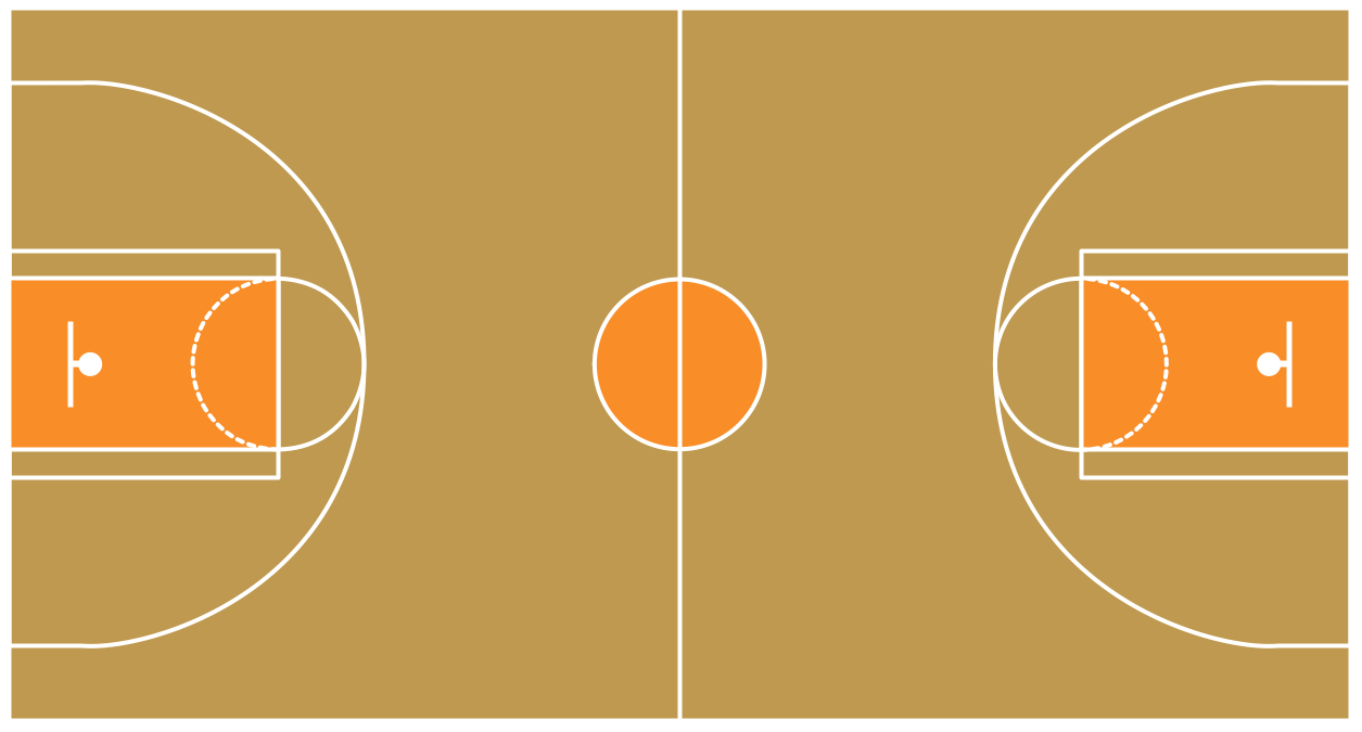Playground clipart basketball court #8