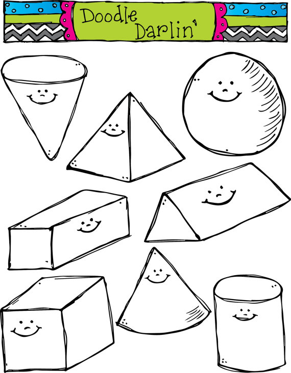 Other clipart 3d shapes 3d And Download Shapes Clipart