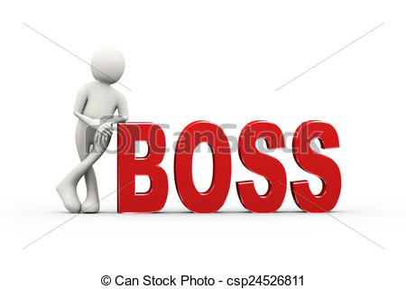 3D clipart boss 3d of csp24526811 man with