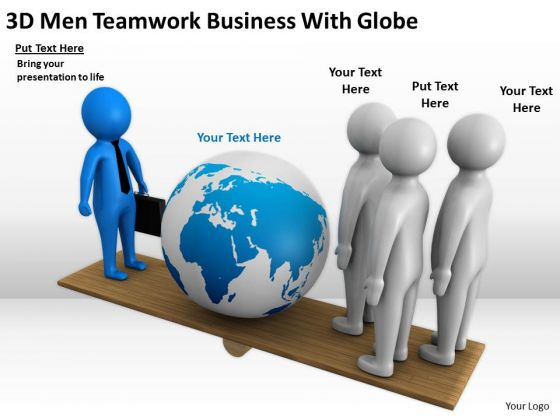3D clipart business Globe PowerPoint  Business 3d