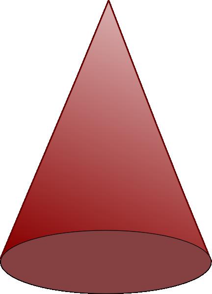 3D clipart cone shape Image art  Clip clip