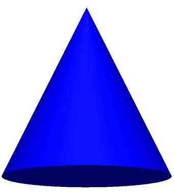 3D clipart cone shape Art you to to full