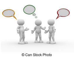 3D clipart conversation 3d This and Stock people