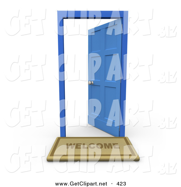 Open Door clipart old door Door Free in of an