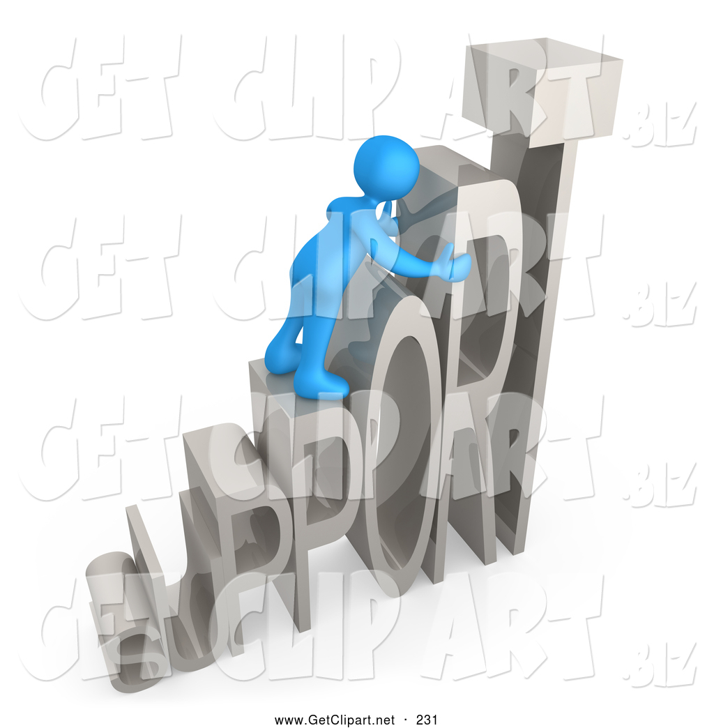 3D clipart friendly person Of Person and Person Clip