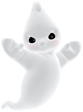 3D clipart ghost PNG Ghost Angry Gallery 3D