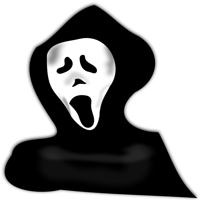 3D clipart ghost Ghost hood ghost Art Free
