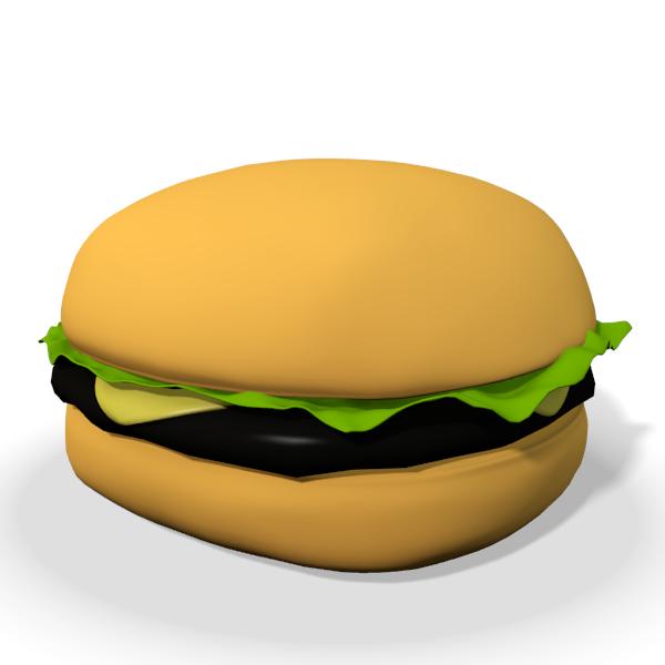3D clipart hamburger (66+) art Art Burger Cheese