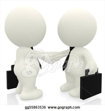 3D clipart handshake Clipart Info Images Clipart Clipart