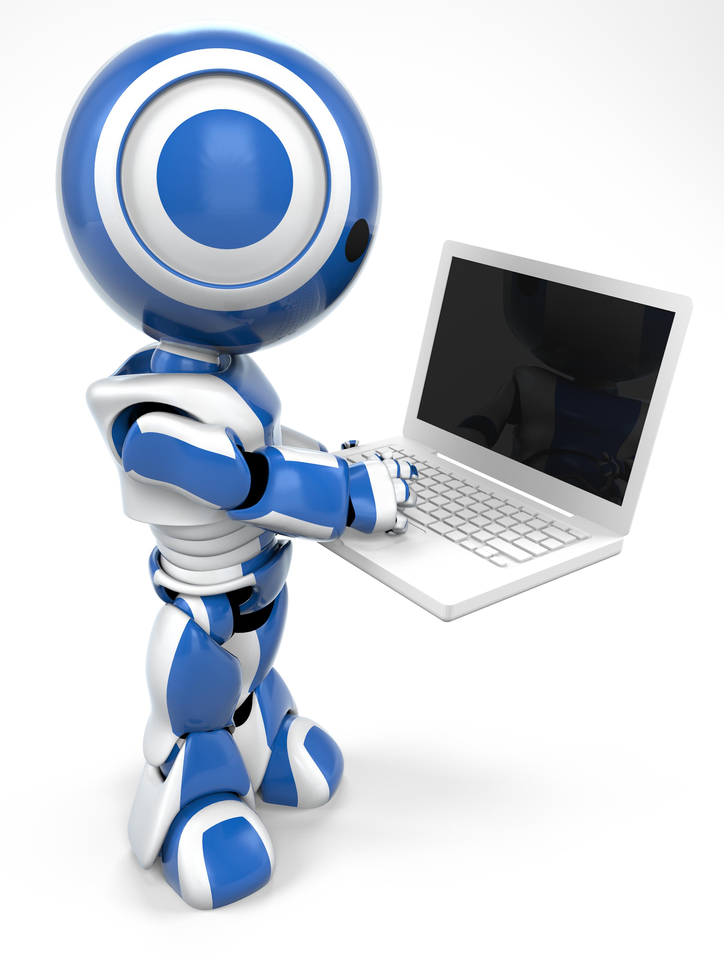 3D clipart kid Blue Computer Clip Computer