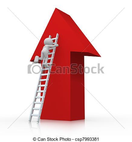 3D clipart ladder Clipart ladder Ladder climbing human