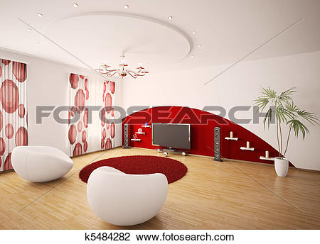 3D clipart living room Living room 3d room clipart