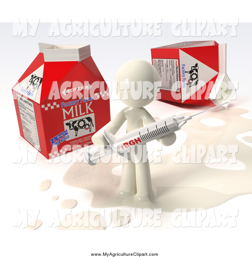 3D clipart milk Milk  by Holding in