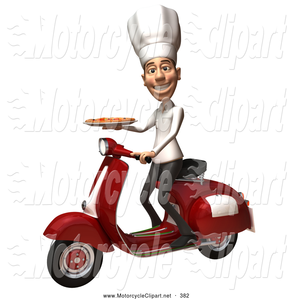 3D clipart motorcycle Free Motorcycle Scooter Royalty a
