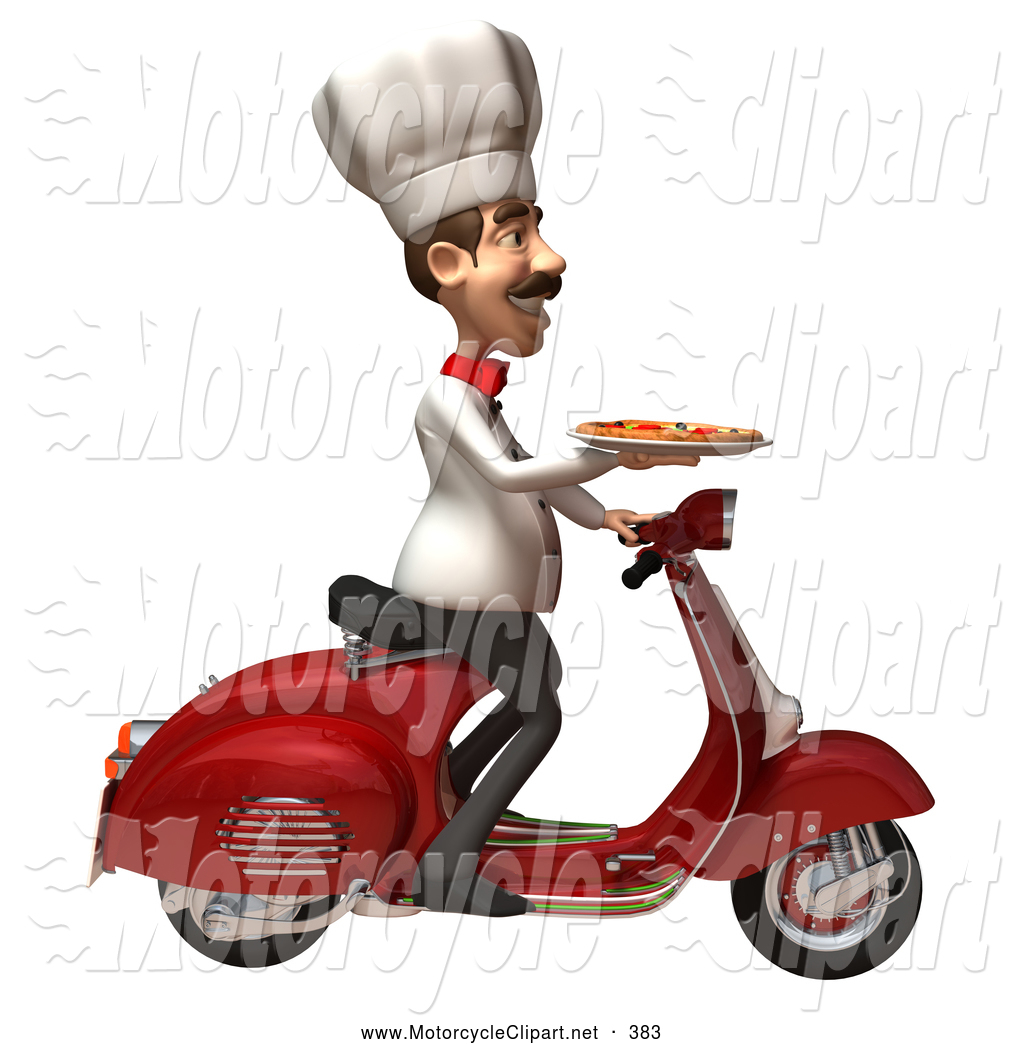 3D clipart motorcycle New by Motorcycle  Clipart