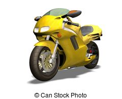 3D clipart motorcycle 14 free and Clipart Illustrations