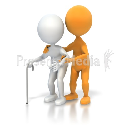 3D clipart nice person Presenter ID# Elderly Animations PowerPoint