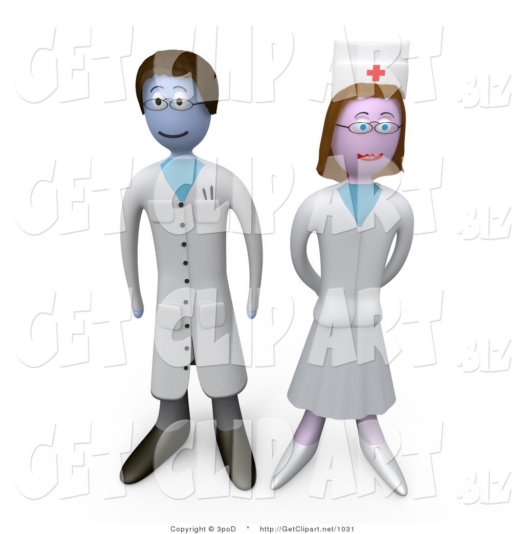 3D clipart nurse Doctor Hospital a Nurse Proud