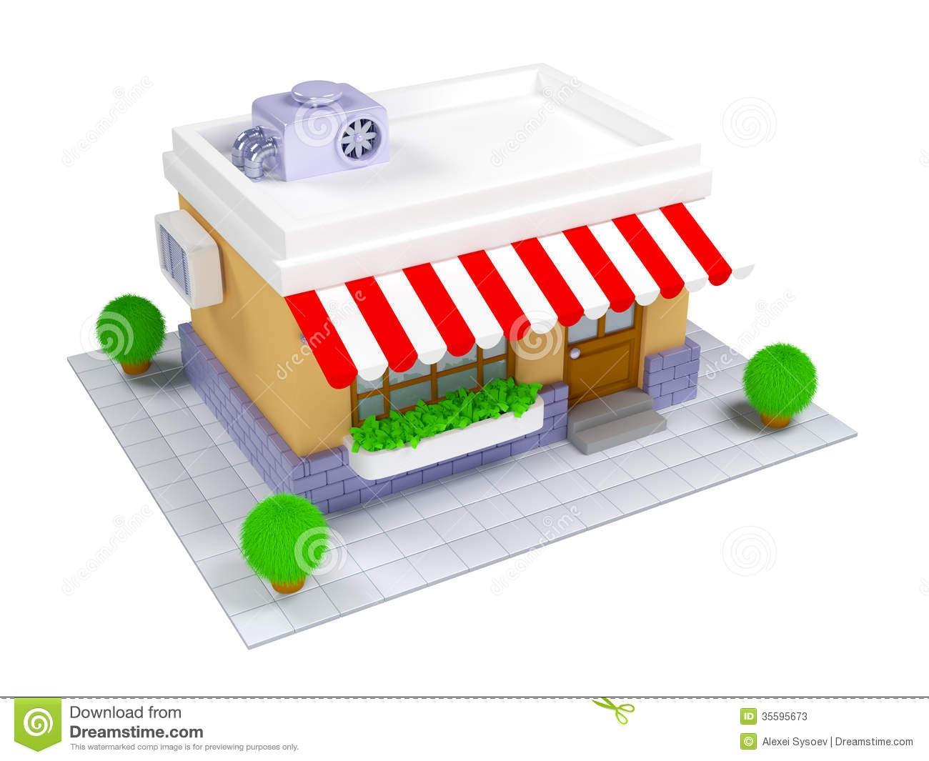 3D clipart restaurant Art Store Download Art Clip