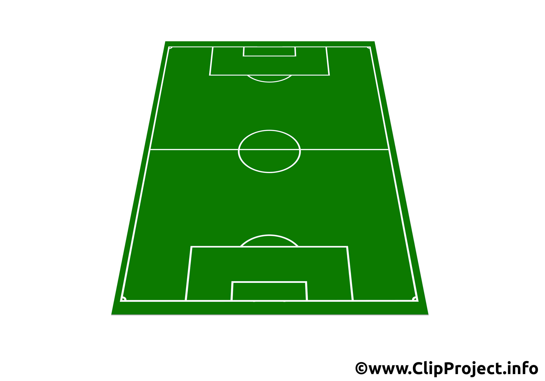 3D clipart soccer field Clip field  Art Soccer