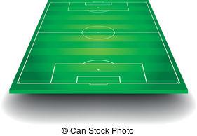 3D clipart soccer field Illustrations Perspective Art 694 Clip
