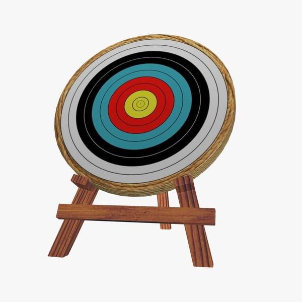 Target clipart conclusion Archery D 3 Zone 3d