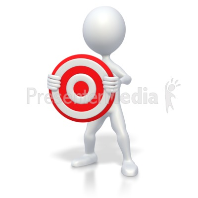 Target clipart conclusion Stick Science PowerPoint Holding Target