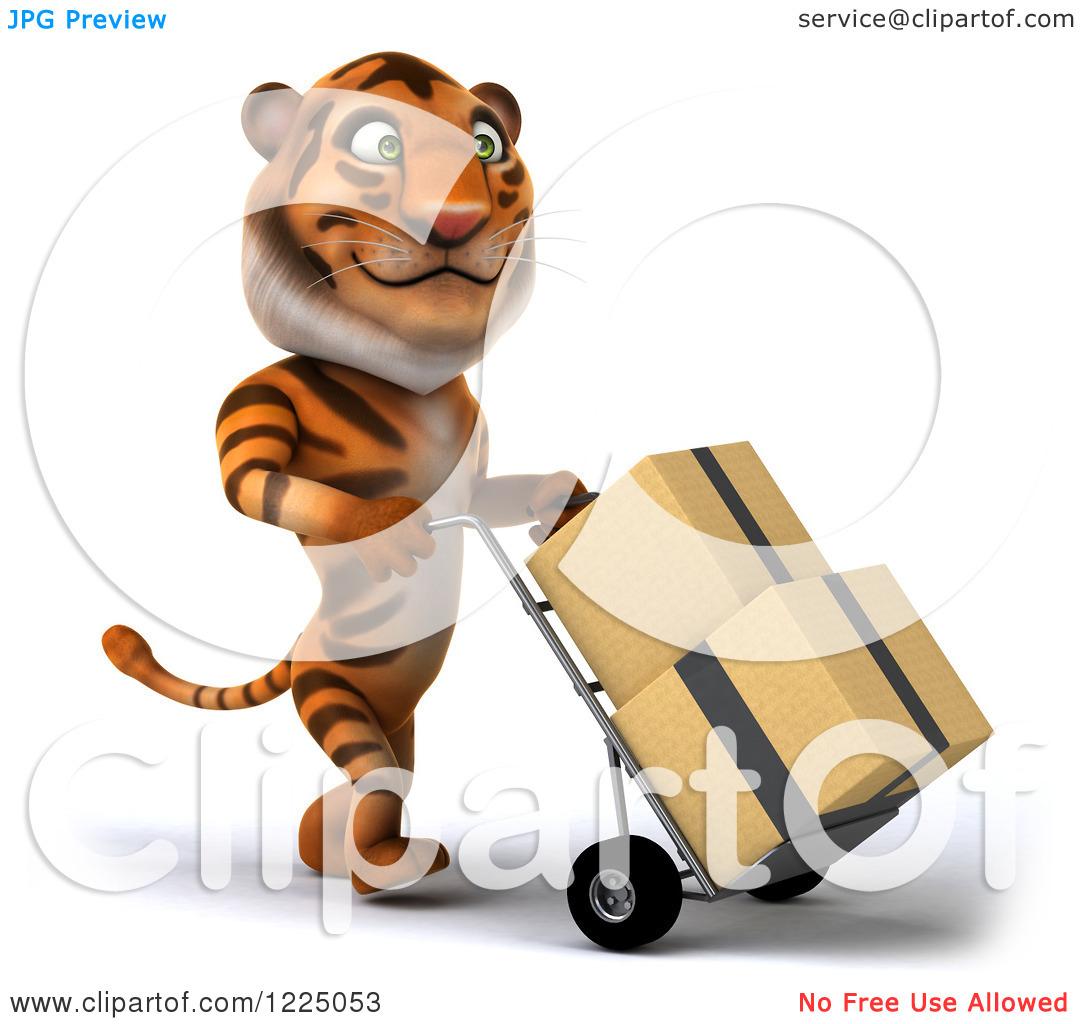 3D clipart tiger Tiger of clipart tiger of