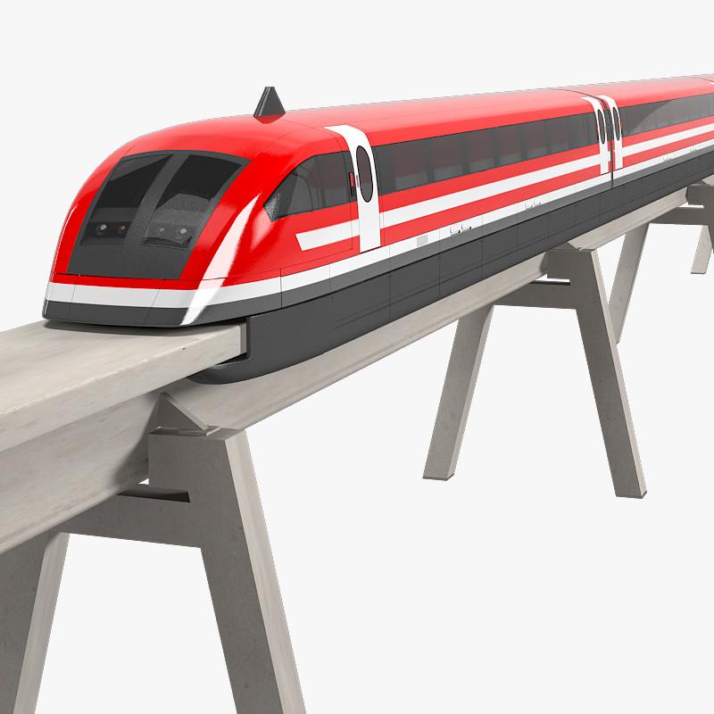 3D clipart train Train 3d magnetic max train
