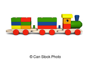 3D clipart train 142 illustration  Stock train