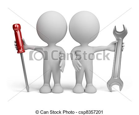 3D clipart two person  the 656 person person