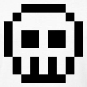 8 Bit clipart White 8 and Bit bit