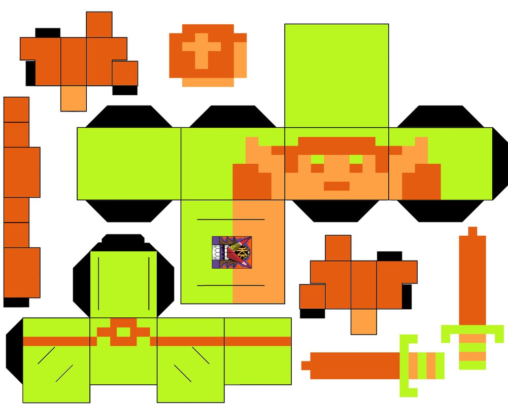 8 Bit clipart legend 8 by by hollowkingking link