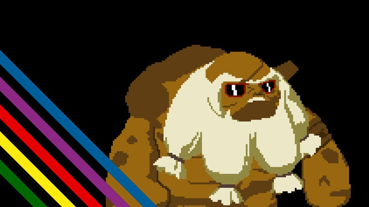 8 Bit clipart old school Goron of City the Legend