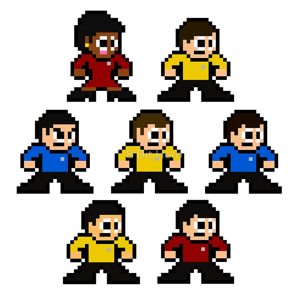 8 Bit clipart original Hero Series bit Bit Original