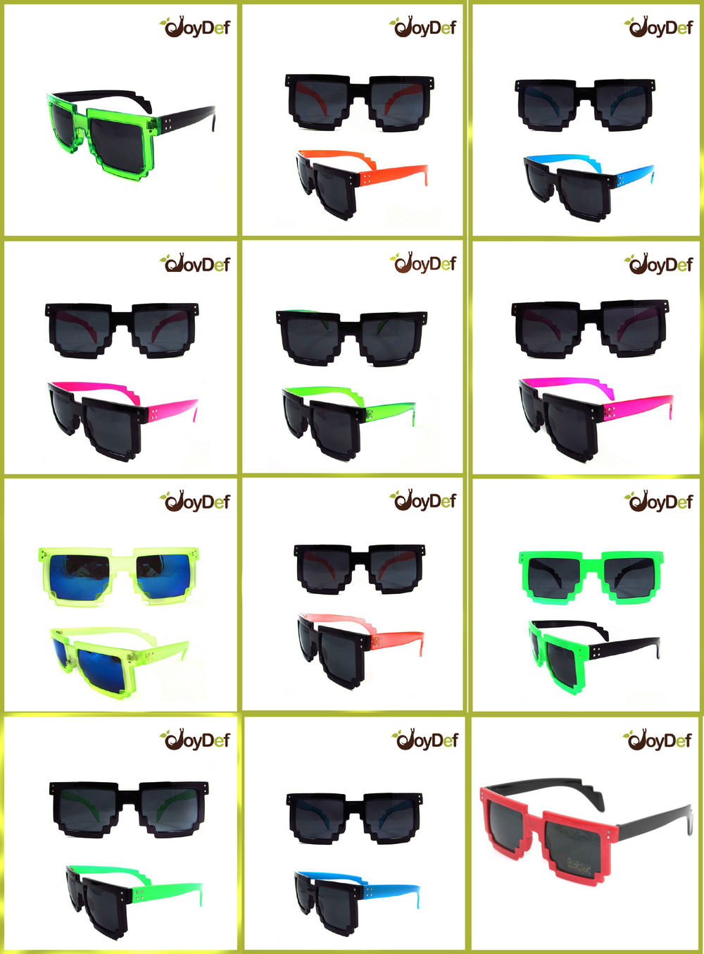 8 Bit clipart original Cheap Plastic Sunglasses Personalized bit