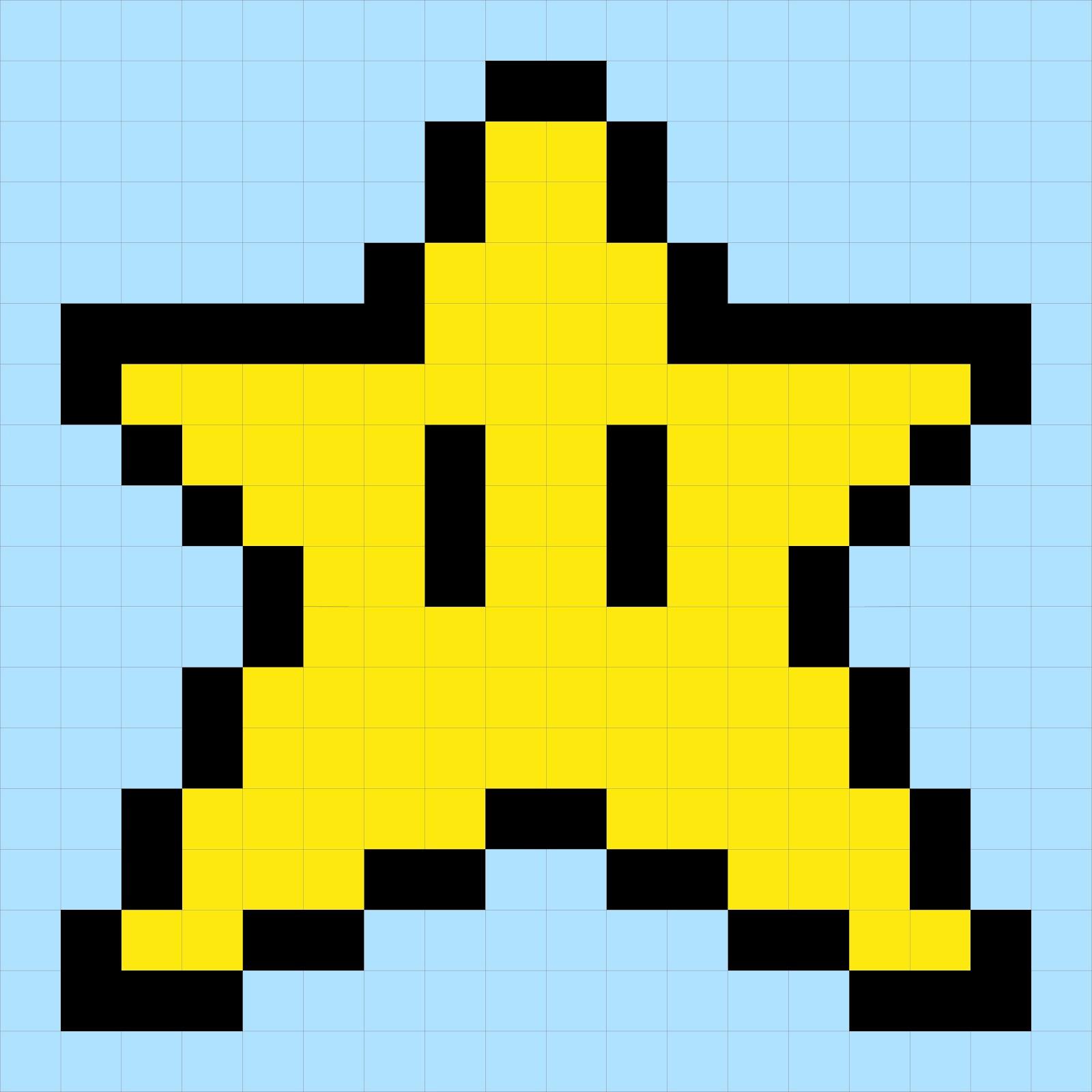 8 Bit clipart super mario bro Super Ideas fot star (1600×1600)
