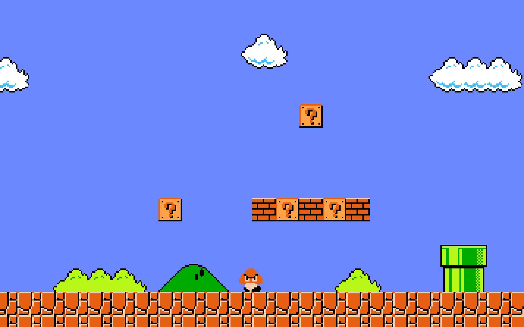8 Bit clipart super mario bro Mario Bros Pinterest  Super