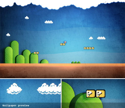 8 Bit clipart super mario bro Mario – Bros designjunction bit