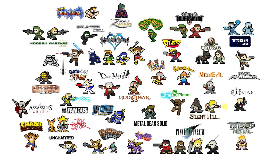 8 Bit clipart video game character Bit! game game 8 Every
