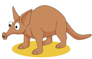 Aardvark clipart  Results From: Size: 60