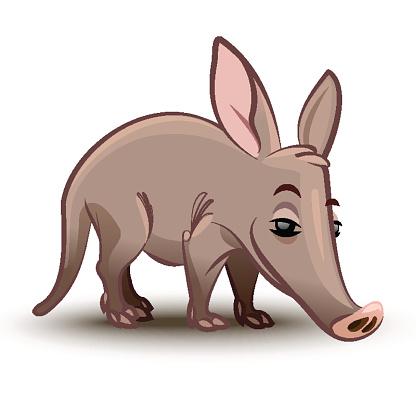 Aardvark clipart Clip Free Image Clip Art