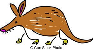 Aardvark clipart Clipart  aardvark isolated free