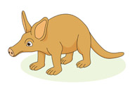 Aardvark clipart Graphics Search Kb animal Size:
