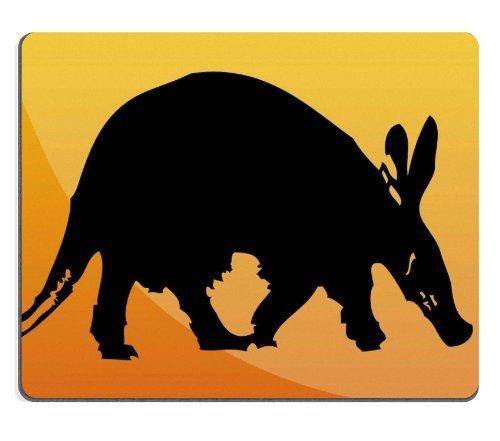 Aardvark clipart Aardvark Silhouette And Rubber Stamp Mousepad Aardvark