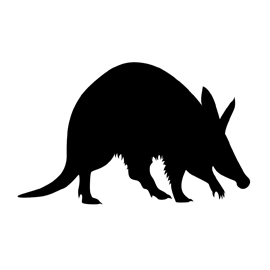 Aardvark clipart Aardvark Silhouette Aardvark Silhouette Stencil Gallery