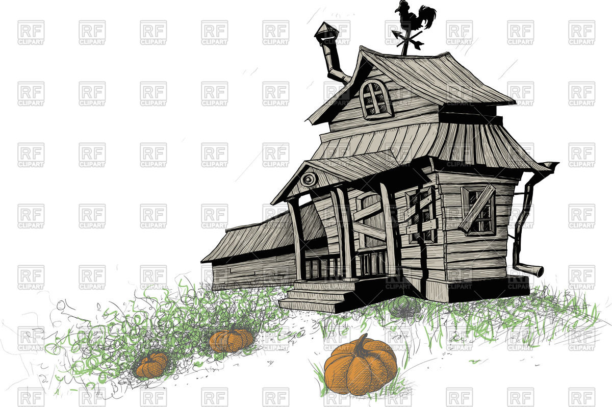 Old House clipart old shack House Clipart houses Free in