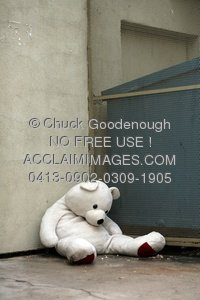 Abandoned clipart Alone Clipart Animal teddy stuffed stuffed alone
